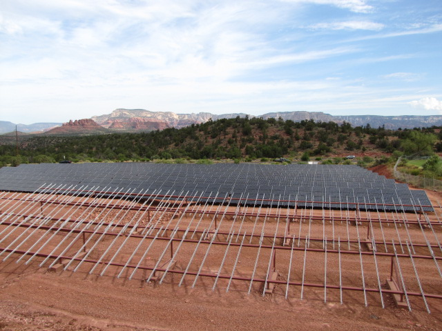 Stockbridge Commercial Electrical solar project
