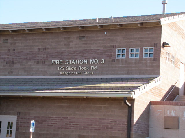 Village of oak creek fire station no 3 electrical contractor project