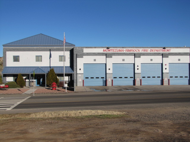 Montezuma Rimrock fire station electrical contractor projects