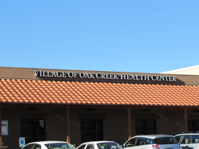 Village of oak creek health center Sedona AZ electrical project