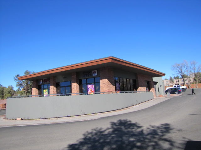 Taco bell Sedona AZ electrical project